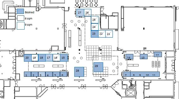 D Exhibition Floor Plan : Fig working week exhibition